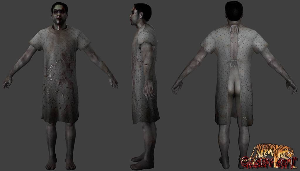 Скачать модели зомби для сервера css v34
