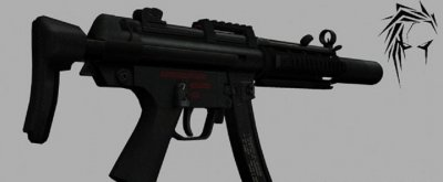 Модель оружия MP5SD RIS IIopn Animation