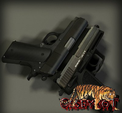 Модель оружия Colt Compact and USP on RAM! anims