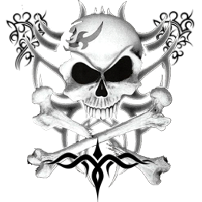 логотип череп: